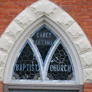 First Baptist Church, detail