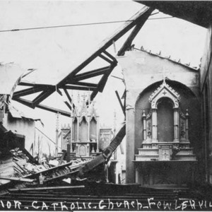 Cyclone, Catholic Church, Interior